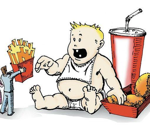 Παιδική παχυσαρκία : κατά μάνα, κατά κύρη