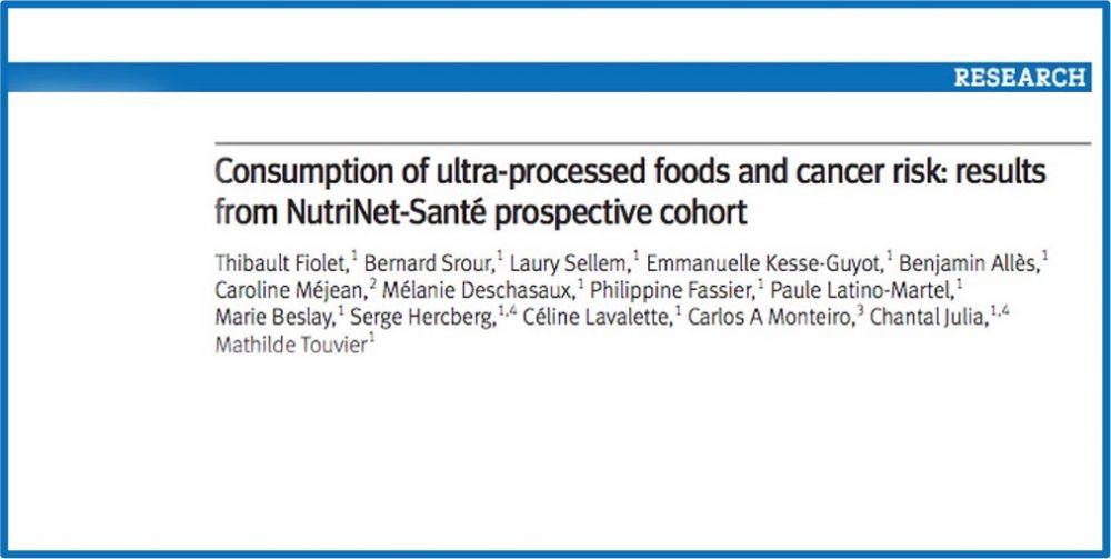 Επεξεργασμένα τρόφιμα & εμφάνιση καρκίνου: Τι δείχνουν νεότερα δεδομένα;